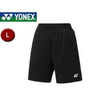 YONEX/ヨネックス 25008-7 ウィメンズ ニットストレッチハーフパンツ 【L】 (ブラック)の画像