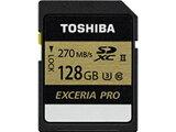 TOSHIBA/東芝 SDXCメモリカード 128GB EXCERIA/エクセリア PRO SDXU-C128G
