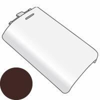 SHARP/シャープ 電話機・ファクシミリ用 充電池ふた(子機用)<ブラウン系> [5951170128]