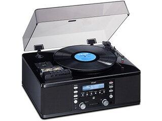 TEAC/ティアック LP-R550USB-P(ピアノブラック) ターンテーブル/カセットプレーヤー付レコーダー