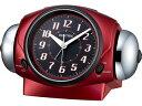 RHYTHM/リズム時計 8RA646SR01 バトルパワー646 【目覚まし時計】【大音量ツインベル】【バトルシリーズ】
