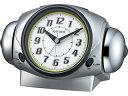 RHYTHM/リズム時計 8RA646SR19 バトルパワー646 【目覚まし時計】【大音量ツインベル】【バトルシリーズ】