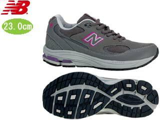 NewBalance/ニューバランス WW1501-EE-GP FITNESS WALKING レディース シューズ  [グレー×パープル]【23.0cm】 2012年2月 NEW WALKING フィットネス シューズ ピンクリボン対象商品【急いで】