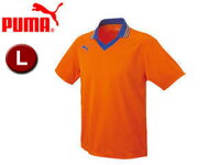 PUMA/プーマ 903299-6 エリツキ 半袖 ゲームシャツ 【L】 (ORANGE-BLU)の画像