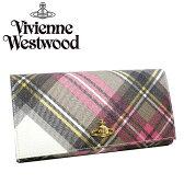 ヴィヴィアン 財布 長財布 ヴィヴィアンウエストウッド Vivienne Westwood 1032 DERBY NEW EXIBITIONビビアン ヴィヴィアン・ウエストウッド チェック 【送料無料】【あす楽対応】【RCP】【プレゼント】