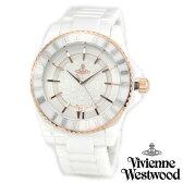 【送料無料】 ヴィヴィアンウエストウッド 時計 ヴィヴィアン 腕時計 Vivienne Westwood VV048RSWH ユニセックス メンズ レディース Ceramic セラミック ビビアン うでとけい 【あす楽対応】【RCP】0824楽天カード分割