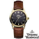 【送料無料】Vivienne Westwood ヴィヴィアン ウエストウッド メンズ 腕時計 時計 とけい ビビアン Grosvenor VV064BKBR 【あす楽対応】【RCP】【プレゼント】