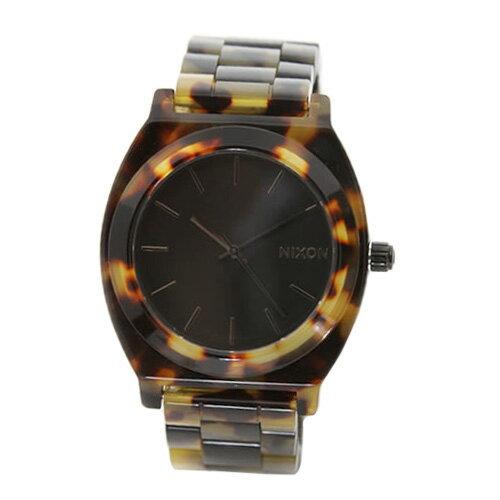 【送料無料】 NIXON  ニクソン ユニセックス レディース メンズ 腕時計 THE TIME TELLER ACETATE タイムテラー アセテート トートイズ A327-646 A327646 べっ甲 にくそん 時計 【あす楽対応】【RCP】【プレゼント】