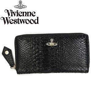 VivienneWestwoodヴィヴィアンウエストウッド長財布ラウンドファスナー32584APUKABLACK