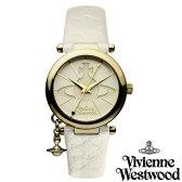 【送料無料】 Vivienne Westwood ヴィヴィアン ウエストウッド レディース 腕時計 時計 ビビアン VV006WHWH オフホワイト ヴィヴィアン・ウエストウッド 【あす楽対応】【RCP】【プレゼント】