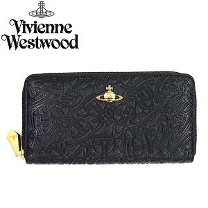 VivienneWestwoodヴィヴィアンウエストウッド長財布ラウンドファスナー5140ORBFEVERBLACK484452