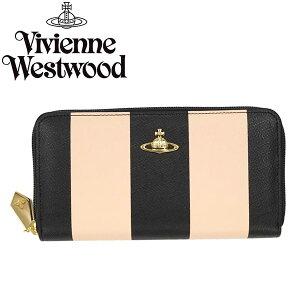 VivienneWestwoodヴィヴィアンウエストウッド長財布ラウンドファスナー5140SANTAMONICAPEACH484339