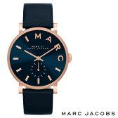 【送料無料】 マークバイ MARC BY MARC JACOBS マークバイマークジェイコブス ユニセックス レディース 腕時計 MBM1329 時計 Baker ベイカー ネイビー×ローズゴールド 【あす楽対応】【RCP】【セール】