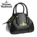 【送料無料】 Vivienne Westwood ヴィヴィアン ウエストウッド バッグ ハンドバッグ かばん 鞄 ビビアン 5243 FRILLY SNAKE BLACK ヴィヴィアン・ウエストウッド 【あす楽対応】【RCP】【在庫処分セール】