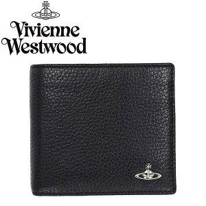 VivienneWestwoodヴィヴィアンウエストウッド二つ折り財布33311COINHOLDERMILANOBLACK