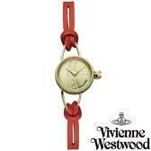 【送料無料】 Vivienne Westwood ヴィヴィアンウエストウッド ヴィヴィアン ウエストウッド レディース 腕時計 時計 ビビアン VV081GDRD ゴールド×レッド【あす楽対応】【RCP】【プレゼント】【セール】