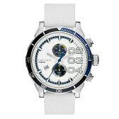 【送料無料】 DIESEL ディーゼル メンズ 腕時計 時計 DZ4351 Double Down 48 ダブルダウン48 ホワイト【あす楽対応】【RCP】【プレゼント】【セール】
