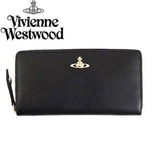 VivienneWestwoodヴィヴィアンウエストウッド長財布321289OPIOSAFFIANOBLACK
