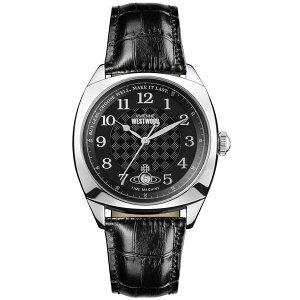 【送料無料】 Vivienne Westwood ヴィヴィアン ウエストウッド メンズ 腕時計 時計 ビビアン VV175SLBK ヴィヴィアン・ウエストウッド 【あす楽対応】【RCP】【プレゼント】【ブランド】【セール】
