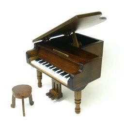 【既存曲リストからお好きな曲を選べます】ミニアンティークグランドピアノ・18Nタイプオルゴール
