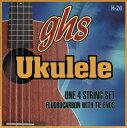ghs H20 ハワイアン フロロカーボン ウクレレ弦 を 6set