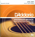 D'Addario EJ15 Extra Light を 4set ダダリオ フォークギター弦