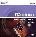 D'Addario EJ53C BLACK NYLON を 4set ダダリオ ウクレレ弦