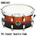 Crush S3MS14X7 701 Copper Sparkle Fade クラッシュ ウッドシェル スネアドラム コッパースパークルフェイド