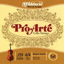 D'Addario Pro・Arte J59 Set (silver G) ダダリオ チェロ弦