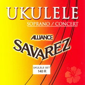 SAVAREZ 140R Soprano/Concert サバレス ウクレレ弦 3セット