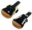Ibanez(アイバニーズ) ギターケース ギグバッグ アコースティックギター用 POWERPAD Designer Collection ブラック ドレッドノートタイプ収納可 IAB541-BK