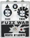 【レビューを書いて次回送料無料クーポンGET】Death By Audio Fuzz War Ver.2 エフェクター【1年保証】【デスバイオーディオ】【ファズ..