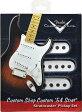【レビューを書いて次回送料無料クーポンGET】Fender Custom Shop Custom '54 Stratocaster Pickups set [099-2112-000]【フェンダー】【新品】【ギター用ピックアップ】【RCP】