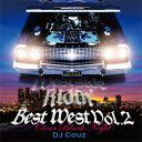 DJ COUZ / WESTSIDE RISIN' BEST WEST VOL.2-CLEAR BLACK NIGHT-