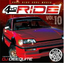 Artist Name: D - DJ DEEQUITE / 4YO RIDE VOL.10