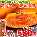 自然の美味しさ♪完全無添加!新潟のブランド柿「おけさ」で作った新潟産「あんぽ柿」 2L・Lサイズ1パック(250g)