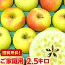 サンふじ以上とも言われる美味しさ♪長野県産 ぐんま名月 ご家庭用2.5kg北海道、沖縄・一部離島は発