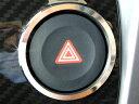 Copen コペン (オプションパネル装着専用) ハザードスイッチリング クローム DMMC