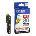 エスコ(ESCO) [エプソン] インクカートリッジ(ブラック/ICBK 80) EA759X-106D