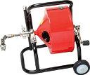 【直送】【代引不可】排水管掃除機F4型キャスター型 F4-12-12 ヤスダトーラー