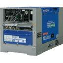 【直送】【代引不可】ディーゼルエンジン溶接機 超低騒音型 キャスター式 DLW-200X2LS Denyo(デンヨー)