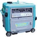 【直送】【代引不可】小型 キャスター式エンジンアーク溶接機兼発電機 超低騒音型 キャスター式 150A GAW-150ES2 Denyo(デンヨー)
