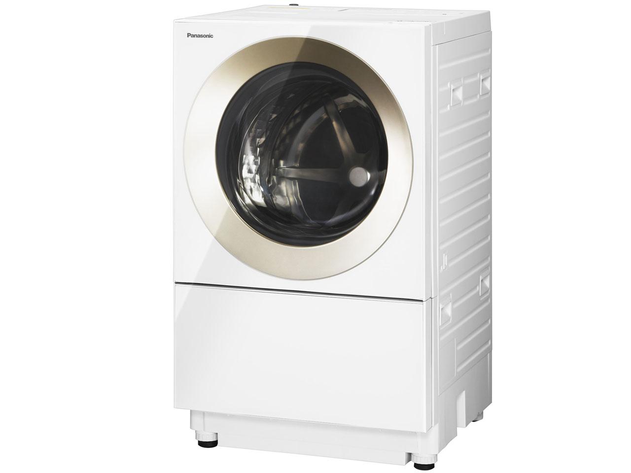 パナソニック Panasonic NA-VS1000L-N [ななめ型ドラム式洗濯機(10.0kg) 左開き 温水泡洗浄 キューブル ノーブルシャンパン]※送料無料