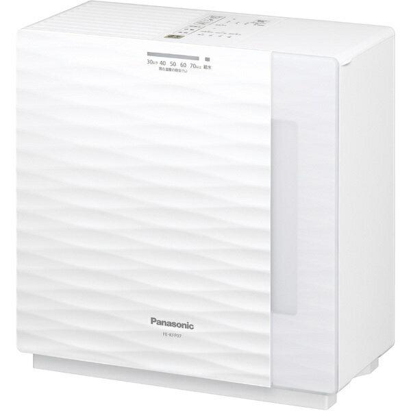 パナソニック Panasonic FE-KFP07-W [ヒーターレス気化式加湿器 プレハブ洋室:19畳/木造和室12畳 ミルキーホワイト]※送料無料