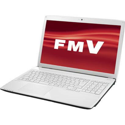 富士通 FUJITSU FMVA42MW [LIFEBOOK AH42/M(ベーシック) 15.6型ワイド液晶 HDD750GB スーパーマ...