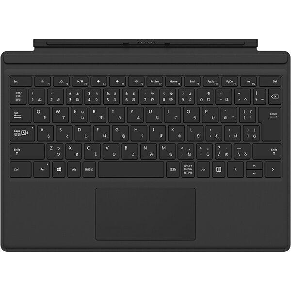 マイクロソフト Microsoft QC7-00070 [Surface Pro 4 タイプ カバー ブラック]※送料無料