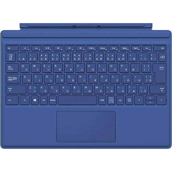 マイクロソフト Microsoft QC7-00072 [Surface Pro 4 タイプ カバー ブルー]※送料無料
