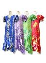 ムームー Type B(お揃いのアロハシャツ有)ハワイ、グァム、沖縄の結婚式に参列する服装にピッタリのムームー!