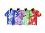 アロハシャツ Type B(お揃いのムームー有)ハワイ、グァム、沖縄の結婚式に参列する服装にピッタリのアロハシャツ!