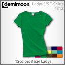 Short sleeve T-shirt (Lady's) which there is no Demi moon [DEMIMOON] lib in